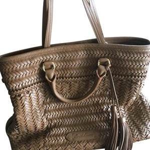 Ralph Lauren Collection Tote in chestnut