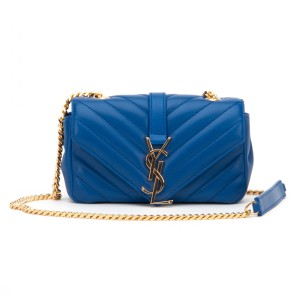 Saint Laurent Ysl Matelasse Ysl Monogram Pink Chain Shoulder Bag. Saint  Laurent Ysl Classic Baby Monogram Matelasse Chain Blue Leather ... 0c157e1a0a9f7