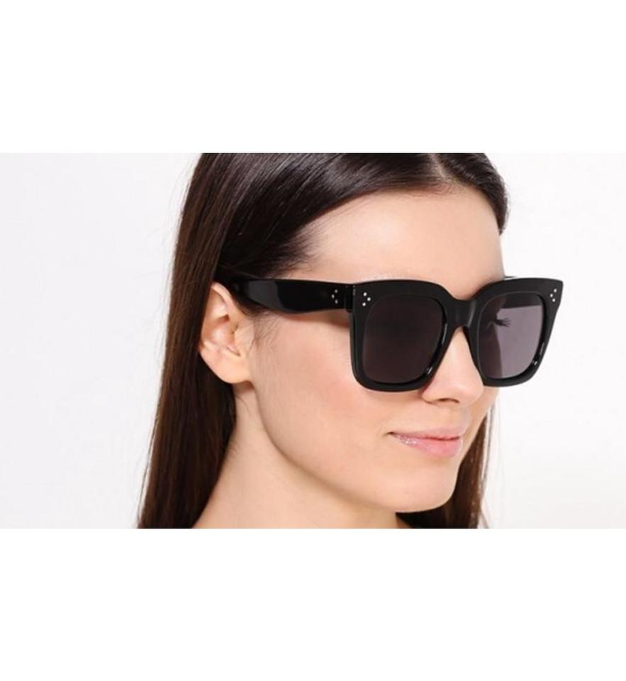 4dfb29ae4c64 Céline Black Final Sale Cl41076  Tilda Sunglasses - Tradesy