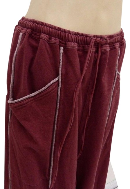 Preload https://img-static.tradesy.com/item/22357336/washed-rosy-red-fab-boutique-euro-vibe-heavy-comfy-l-xl-msrp-185-baggy-pants-size-14-l-34-0-1-650-650.jpg