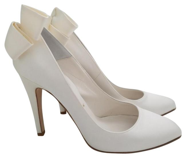 Butter White 1000015499065 Pumps Size US 7.5 Regular (M, B) Butter White 1000015499065 Pumps Size US 7.5 Regular (M, B) Image 1
