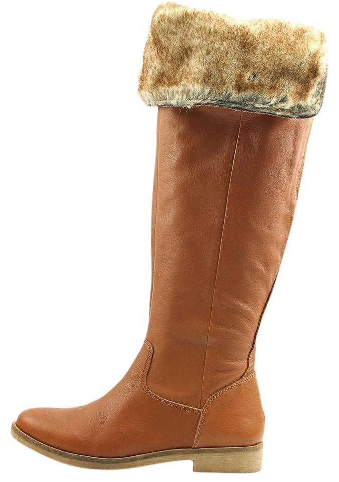 4471552dad6 Lucky Brand Camel Generall Women Tan Over The Knee Boots/Booties Size US  7.5 Regular (M, B) 60% off retail