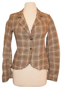 Jigsaw #cottonblazer #plaidblazer Plaid Blazer