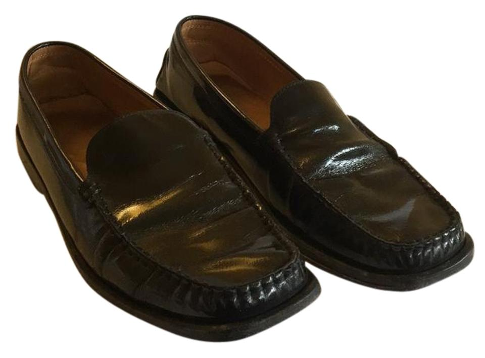 5497c90c2e5 Tod s Black Patent Leather Ladies Loafers Flats Size EU 40.5 (Approx ...