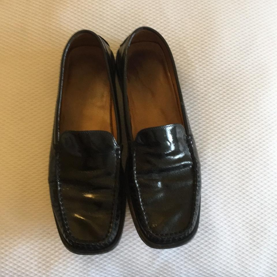 b1ac3cf1ed1 Tod s Black Patent Leather Ladies Loafers Flats Size EU 40.5 (Approx. US  10.5) Regular (M