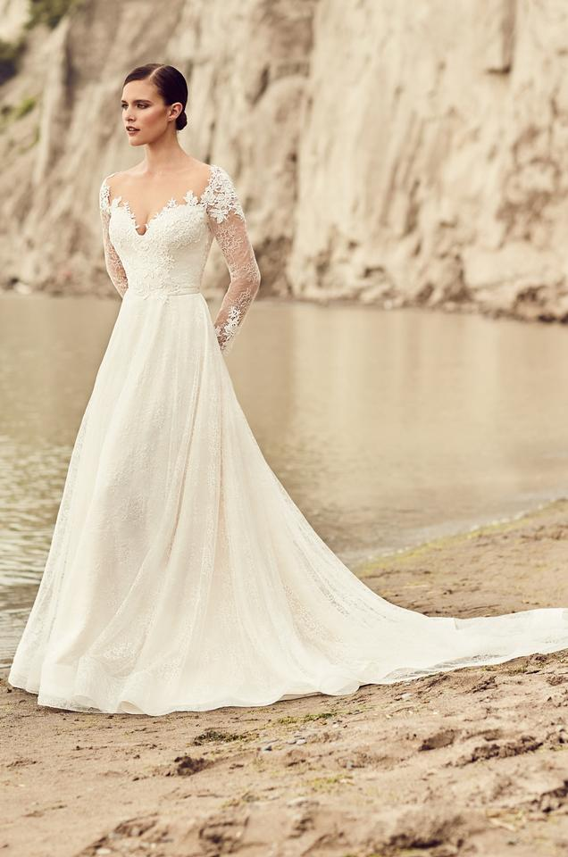 Mikaella Bridal Naturalchampagne Lace 2118 Traditional Wedding