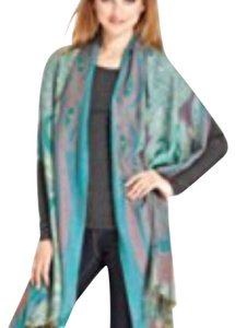Collection Eighteen Collection Eighteen Multi Color Long Fringe hem Scarf