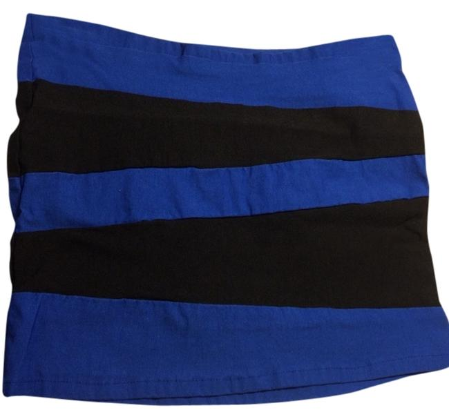 Poof Excellence Skirt Royal Blue/black