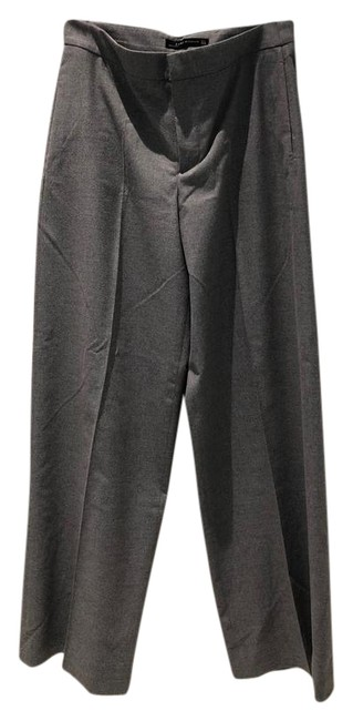 Item - Grey Woman Poly Blend Soft Fabric Pants Size 8 (M, 29, 30)