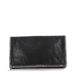 Stella McCartney Shaggy Deer Black Clutch