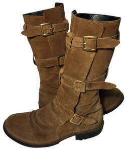 Fiorentini + Baker Motorcycle 7.5 Women Size 7.5 Suede 7.5 Brown Boots