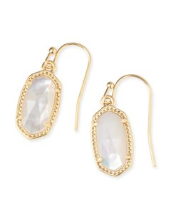 Kendra Scott BRAND NEW Kendra Scott Lee Ivory Mother of Pearl Drop Earrings