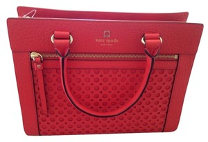 Kate Spade Satchel in orange red