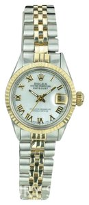 Rolex Rolex Lady Datejust 6517 Two-Tone 26mm White MOP Dial 18K