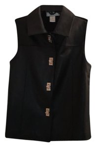 Lisa International Leather Vest