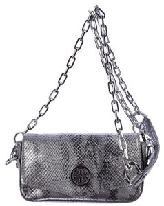 Tory Burch Animal Print Embossed Mini Cross Body Bag