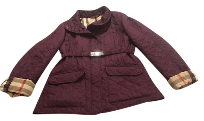 Item - Purple Quilted Jacket Size 4 (S)