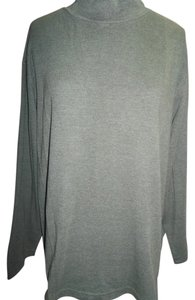 Bobbie Brooks Mock Turtleneck Longsleeve Plus Size Cotton Blend Tunic