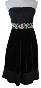 Floreat Strapless Anthropologie Holiday Dress
