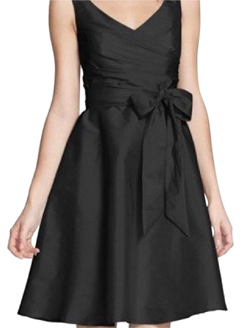 Item - Black Fit and Flair Short Cocktail Dress Size 2 (XS)
