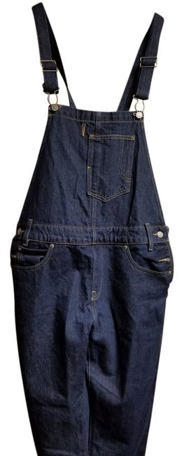 Preload https://img-static.tradesy.com/item/22359915/levi-s-dark-blue-rinse-coverall-relaxed-fit-jeans-size-30-6-m-0-1-650-650.jpg