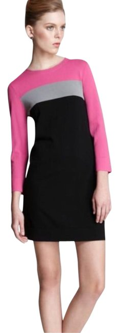 Preload https://img-static.tradesy.com/item/22360232/diane-von-furstenberg-pink-gray-black-aina-shift-workoffice-dress-size-0-xs-0-1-650-650.jpg