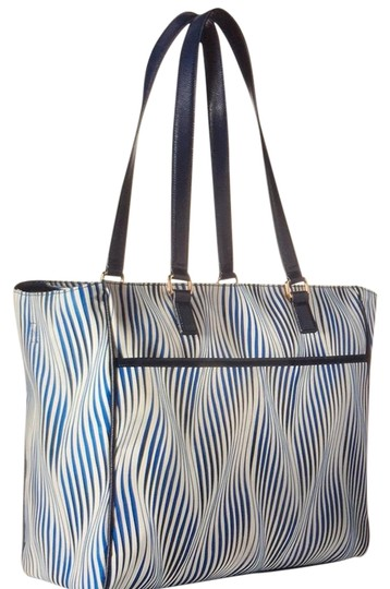 Preload https://img-static.tradesy.com/item/22360476/vera-bradley-uptown-with-leather-trim-wavy-blue-poly-twill-diaper-bag-0-1-540-540.jpg