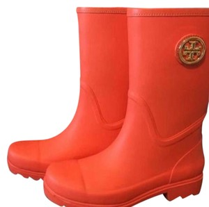 Tory Burch Maureen Maureen Tb Poppy Red (Orange) Boots