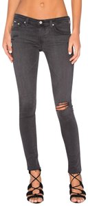 AG Adriano Goldschmied Distressed Skinny Jeans