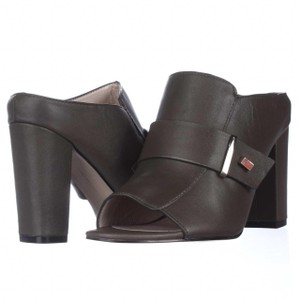 French Connection Grey Mules