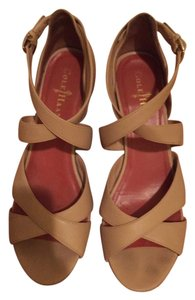 Cole Haan Comfort Nude Sandal Wedge beige Wedges