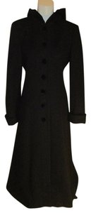 Donnybrook Wool Maxi Velvet Hooded Coat