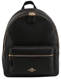 Coach Mini Charlie Leather Backpack