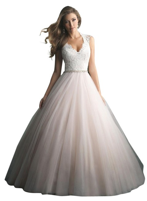 Item - Blush 9162 Traditional Wedding Dress Size 4 (S)