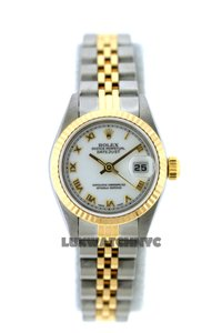 ROLEX 26MM ROLEX DATEJUST 2-TONE WATCH WITH BOX & APPRAISAL