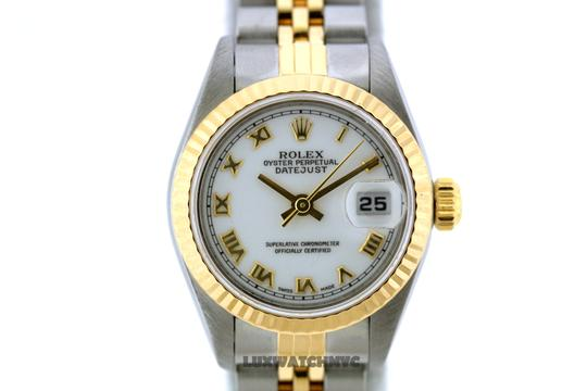 Rolex 26MM ROLEX DATEJUST 2-TONE WATCH WITH BOX & APPRAISAL Image 1