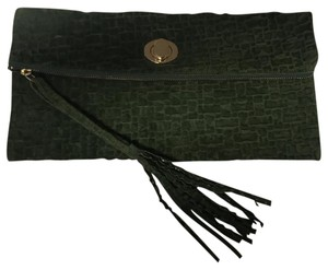 Unsensored military green Clutch