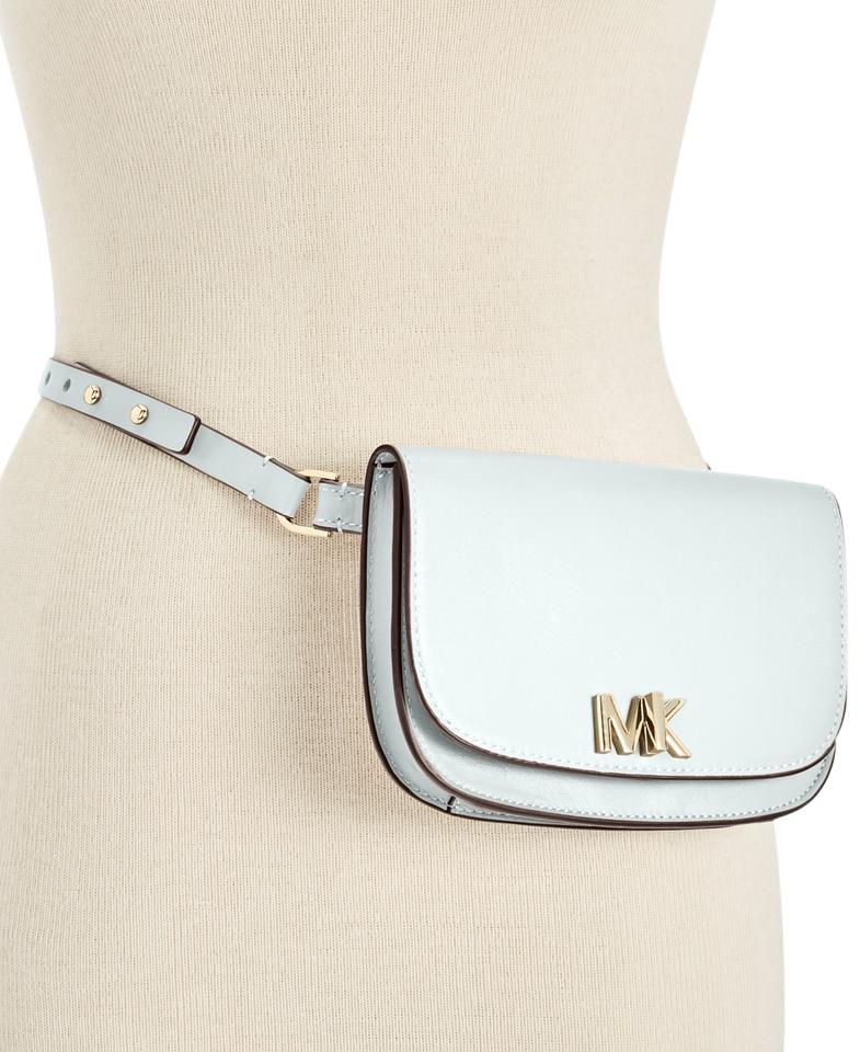 6a396f5eed2684 Michael Kors Michael Kors Leather Turnlock Fanny Pack Image 0 ...