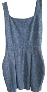 Twenty short dress Blue white on Tradesy