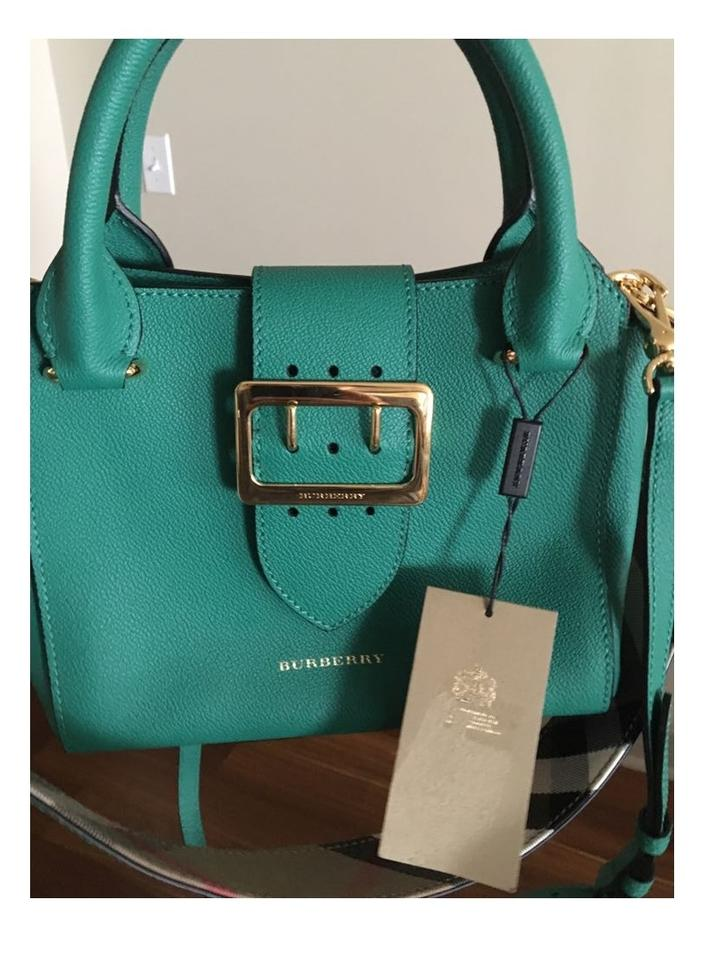 Burberry Green Tote