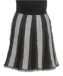 Chanel Mini Skirt Gray