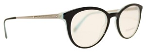 Tiffany & Co. Square Black Silver Rx Eyeglasses TF 2128-B 8193