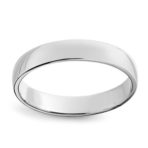 Avital & Co Jewelry White Gold 10k Comfort Fit Men's Wedding Band