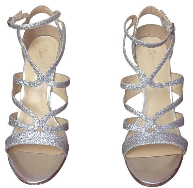 Item - Silver Brittany Formal Shoes Size EU 38.5 (Approx. US 8.5) Regular (M, B)