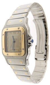 Cartier Cartier Santos Galbee 18K Yellow Solid Gold/SS 29mm Date Watch & Box