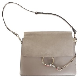 Chloé Suede Medium Faye Shoulder Bag