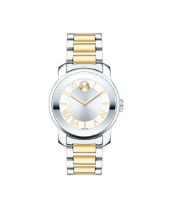 Movado Movado BOLD 3600245 Luxe SWISS Two Tone Stainless Steel Women Watch
