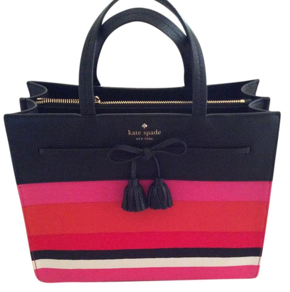 Kate Spade Leather Canvas Multi Color Hot Priced Below Market Shoulder Bag