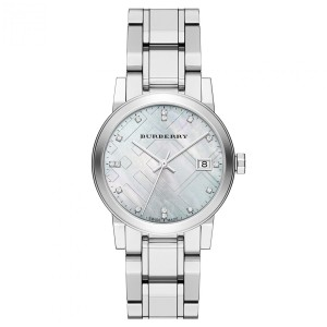 Burberry Burberry Diamond Accent Stainless Steel Ladies Watch BU9125