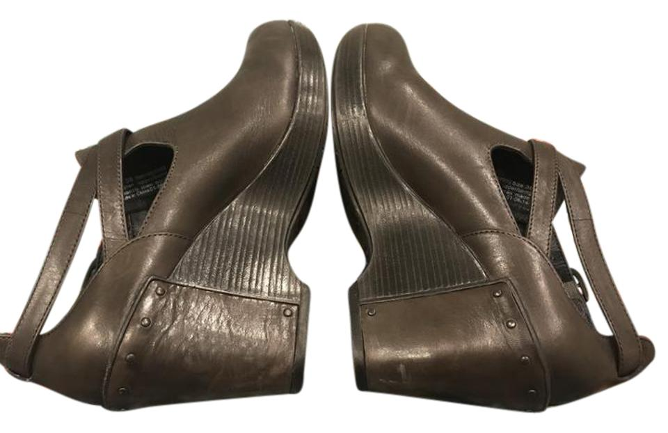306380f81e Dansko Slate Antique Franka Wedges Size EU 38 (Approx. US 8) Regular ...